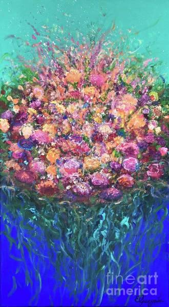 Amaryllis Painting - Fragrance by Elena Guryeva