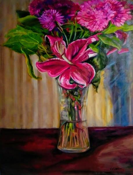 Painting - Fragrance Filled The Room by J Reynolds Dail
