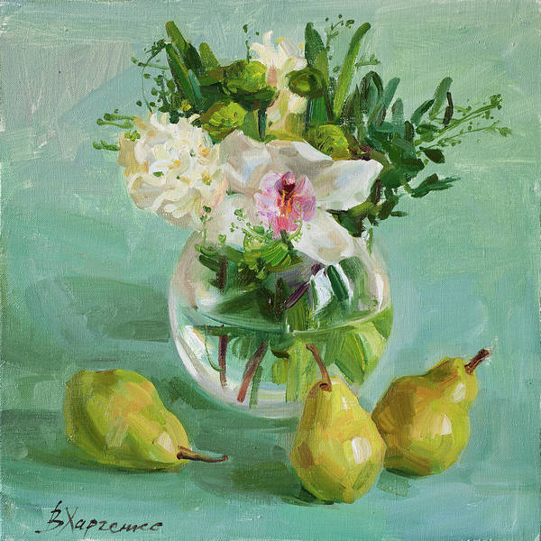Wall Art - Painting - Fragrant Bouquet by Victoria Kharchenko