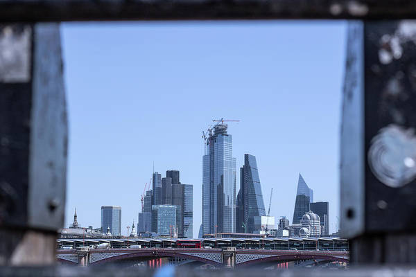 Wall Art - Photograph - Framed London by Martin Newman