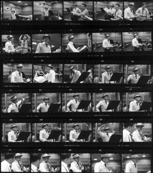 Recording Photograph - Frames Of Frank by Hulton Archive