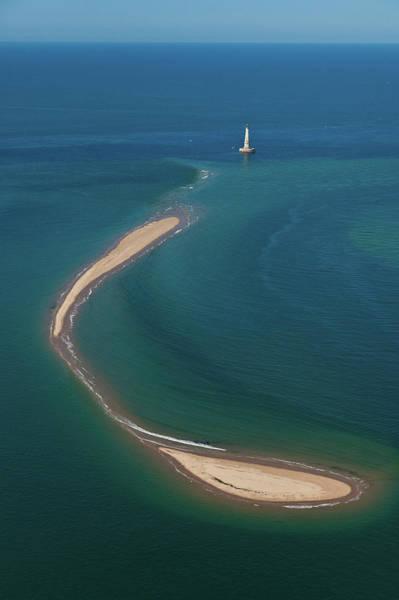 High Tide Photograph - France, Gironde, Le Verdon Sea by Leroy Francis / Hemis.fr