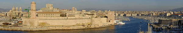 Wall Art - Photograph - France, Marseille, Panoramic View Of by Sami Sarkis