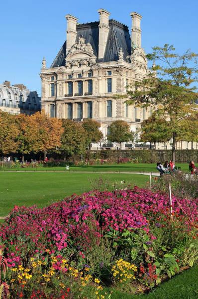 Jardin Des Tuileries Photograph - France, Paris, The Tuileries Gardens by Arnaud Chicurel