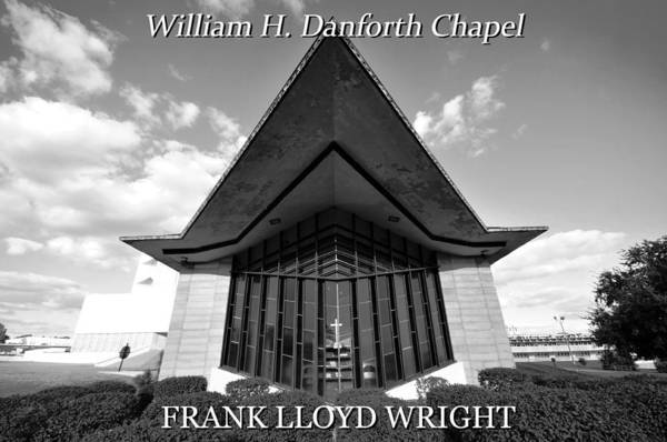 Wall Art - Photograph - Frank L. Wright Architecture  by David Lee Thompson