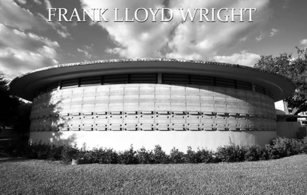 Wall Art - Photograph - Frank L. Wright Architecture Fsc by David Lee Thompson