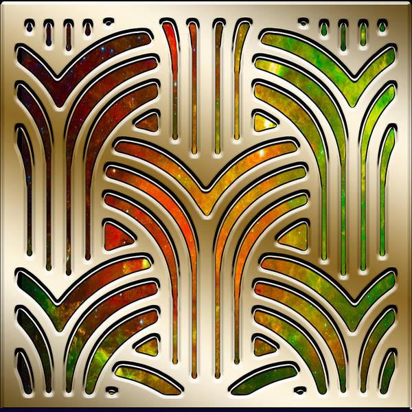 Lloyd Digital Art - Frank Lloyd Wright Design 3 by Chuck Staley