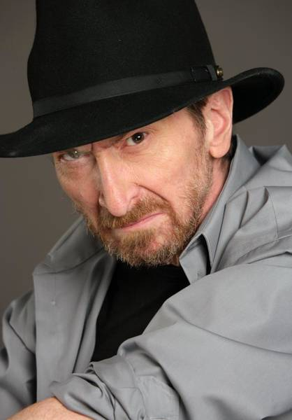 Photograph - Frank Miller Portrait Session by Harry Langdon