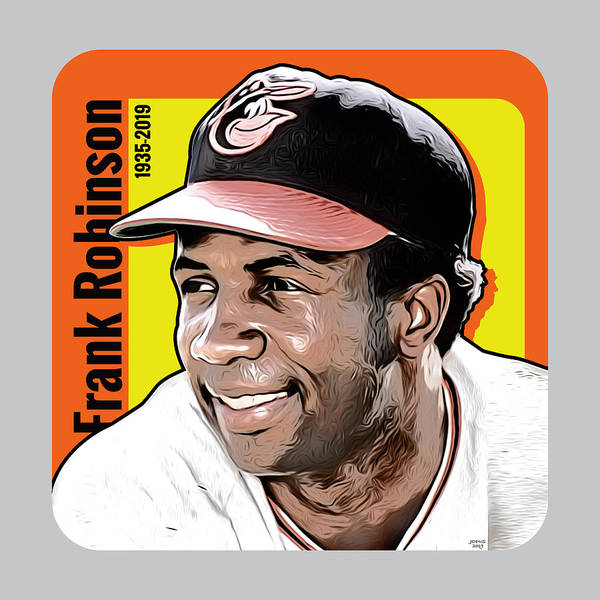Wall Art - Digital Art - Frank Robinson Tribute by Greg Joens