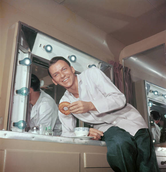 Smiling Photograph - Frank Sinatra by Archive Photos