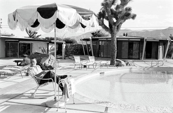 Horizontal Photograph - Frank Sinatra At Home by John Dominis