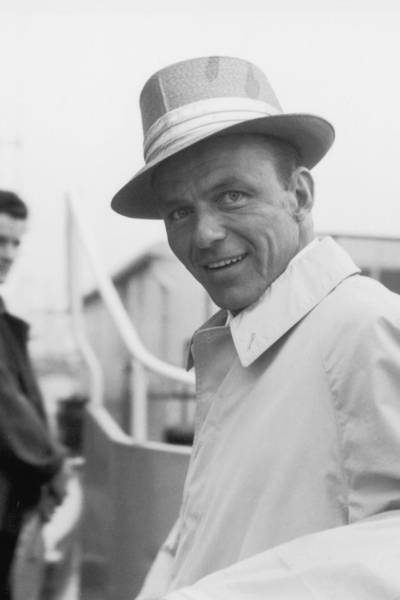 Shopping Photograph - Frank Sinatra by J. Wilds
