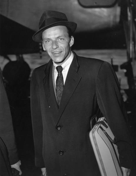 Wall Art - Photograph - Frank Sinatra by Ronald Dumont