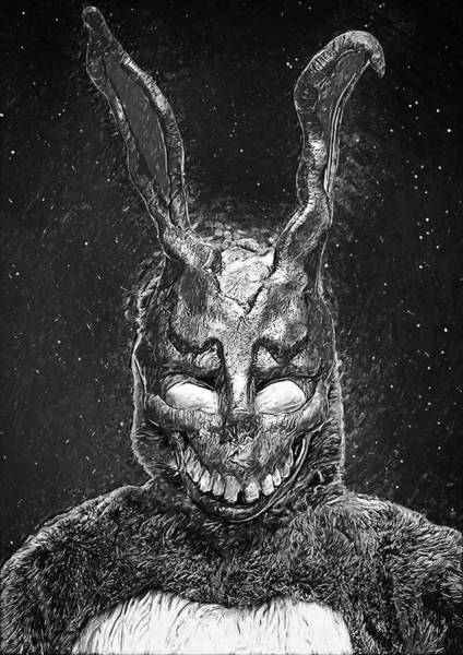Wall Art - Digital Art - Frank The Rabbit by Zapista Zapista