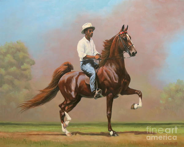 Wall Art - Painting - Frank Thomas And Maple Hill's Genius by Jeanne Newton Schoborg