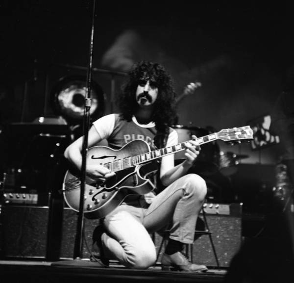 Frank Zappa Wall Art - Photograph - Frank Zappa And The Mothers In Ny by Donaldson Collection