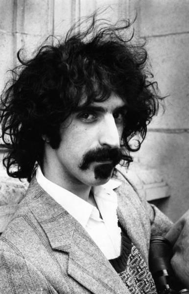 Frank Zappa Wall Art - Photograph - Frank Zappa by Evening Standard
