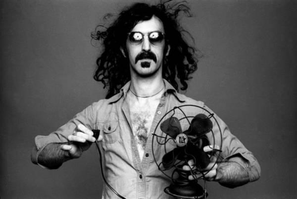 Frank Zappa Wall Art - Photograph - Frank Zappa by Hans Wolfgang Muller Leg