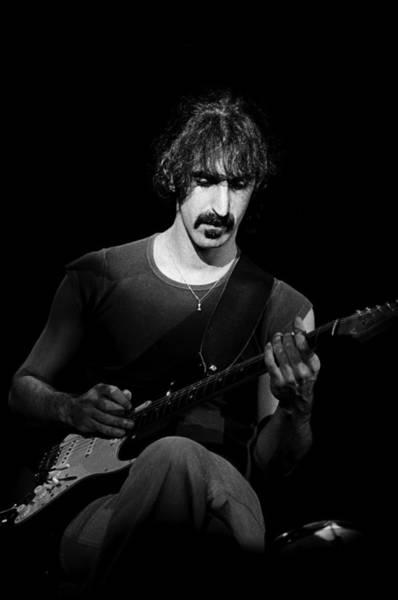 Frank Zappa Wall Art - Photograph - Frank Zappa Performs Live by Richard Mccaffrey