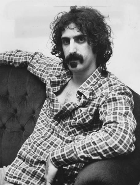 Frank Zappa Wall Art - Photograph - Frank Zappa by Roger Allston
