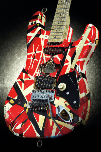 Object Photograph - Frankenstrat Studio Shoot by Guitarist Magazine