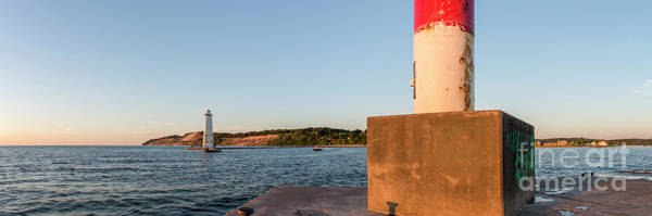 Wall Art - Photograph - Frankfort North Breakwater Lighthouse And Light Station by Twenty Two North Photography