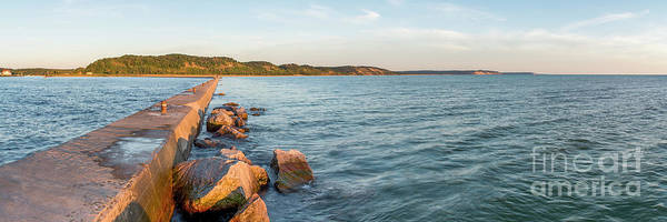 Wall Art - Photograph - Frankfort Shoreline Panorama by Twenty Two North Photography