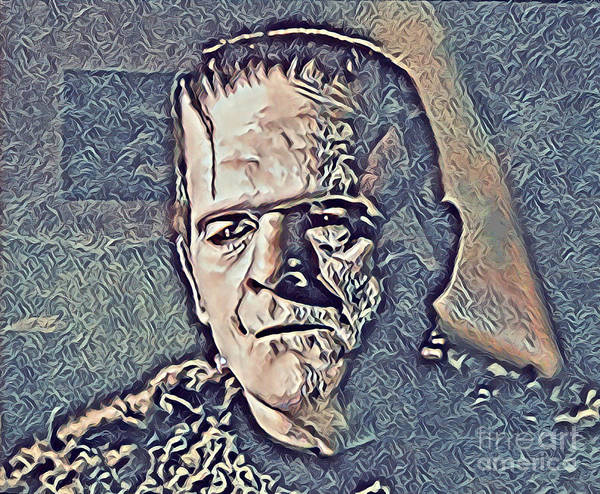 Famous Monsters Digital Art - Frankie The Monster by John Malone