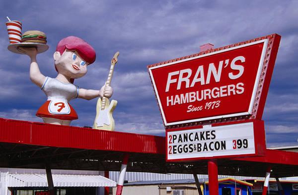 Wall Art - Photograph - Frans Drive Thru Burgers On South by Richard Cummins