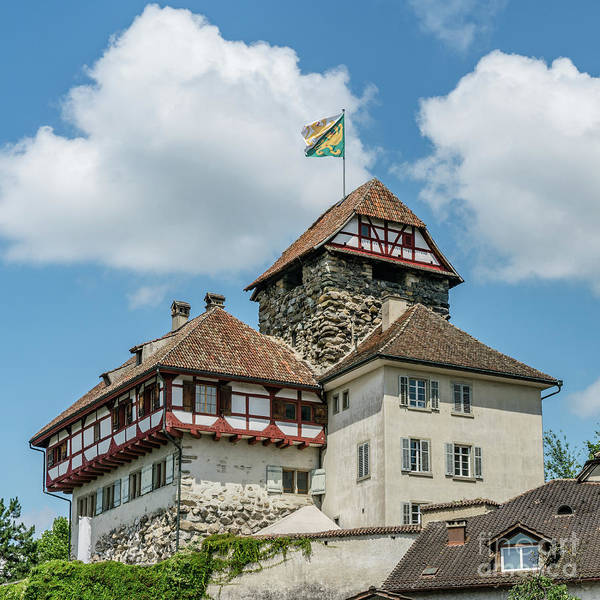 Guard Tower Wall Art - Photograph - Frauenfeld Castle by DiFigiano Photography