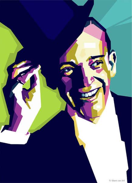 Pop Star Digital Art - Fred Astaire by Stars-on- Art