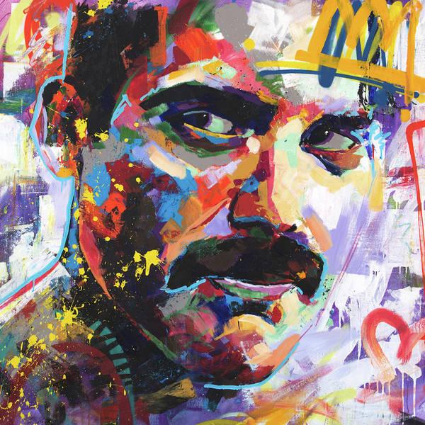 Wall Art - Painting - Freddie Mercury by Richard Day