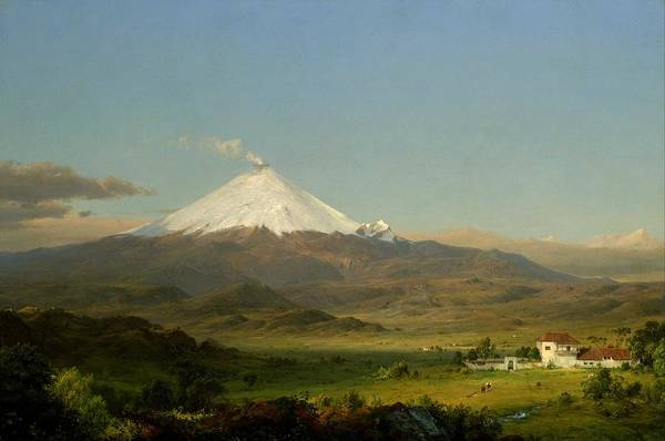 Wall Art - Painting - Frederic Edwin Church, Tropical by Celestial Images