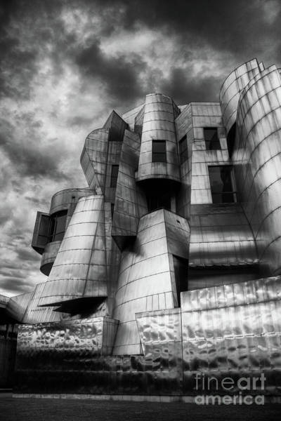 Wall Art - Photograph - Frederick R Weisman Art Museum Frank Gehry University Of Minnesota by Wayne Moran