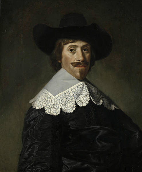 Painting - Frederik Dircksz Alewijn  by Dirck van Santvoort