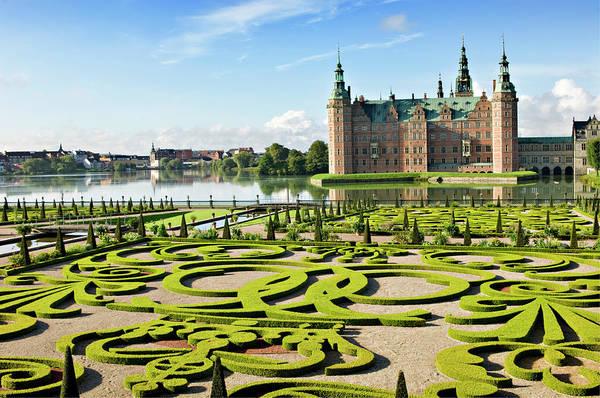Castle Garden Photograph - Frederiksborg Castle And Gardens by Clarkandcompany