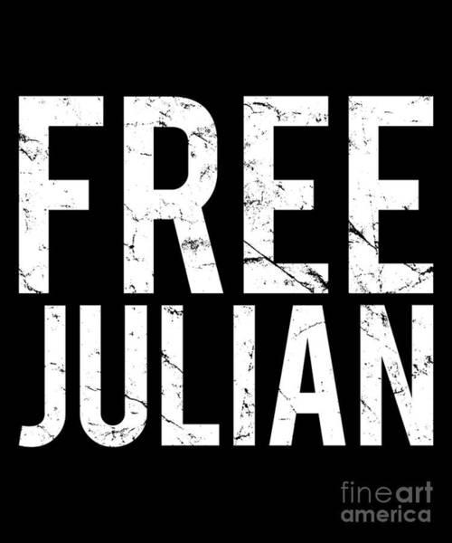 Julian Digital Art - Free Julian by Flippin Sweet Gear