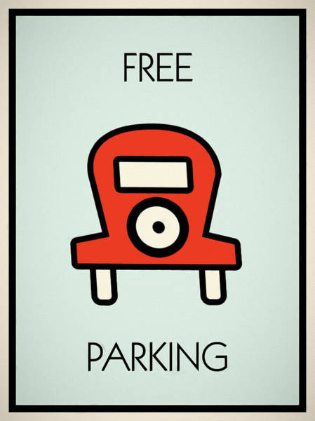 Wall Art - Mixed Media - Free Parking by Dan Sproul