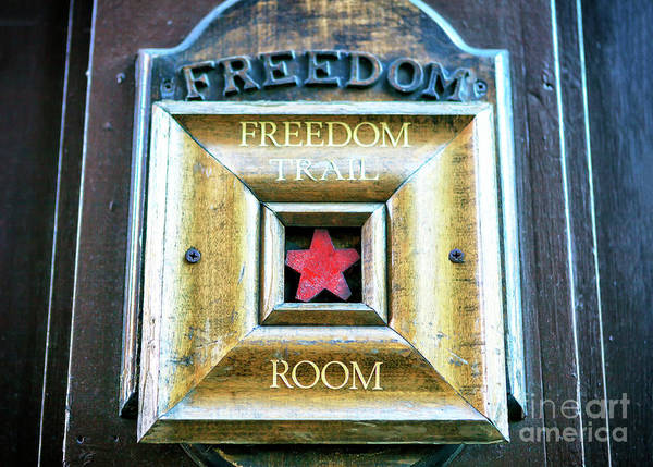 Photograph - Freedom Trail Room In Boston by John Rizzuto