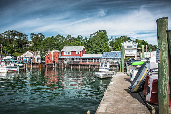Photograph - Freeport Town Wharf by Guy Whiteley