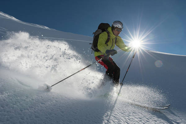 Alpine Skiing Photograph - Freerider by Gorfer