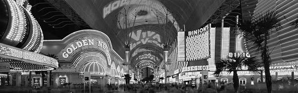 Wall Art - Photograph - Fremont Street Experience, Las Vegas by Panoramic Images