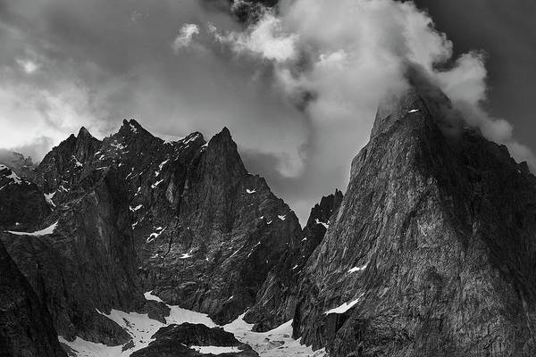 Wall Art - Photograph - French Alps Spires by Jon Glaser