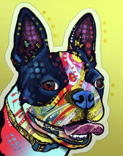 Wall Art - Painting - French Bulldog by Dean Russo Art