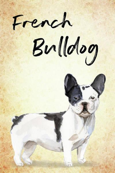 Wall Art - Painting - French Bulldog by Matthias Hauser
