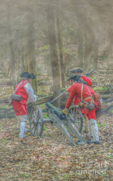 Wall Art - Digital Art - French Cannon Field Of Fire Cook Forest by Randy Steele