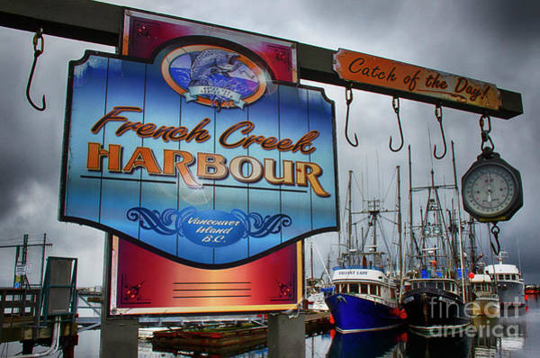 Wall Art - Photograph - French Creek Harbour 2 by Bob Christopher