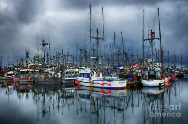 Wall Art - Photograph - French Creek Harbour Vancouver Island by Bob Christopher