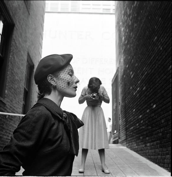 Fashion Model Photograph - French Fashion Models In Us by Gordon Parks