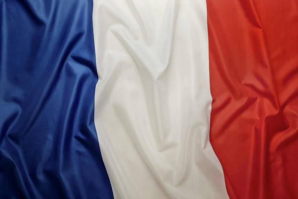 Usa Flag Photograph - French Flag by Joseph Clark